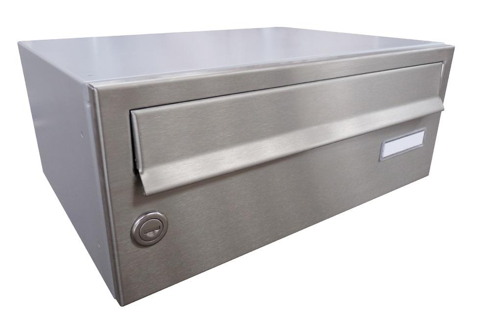 B015 NEREZ (tělo RAL 7040) - 370 x 150 x 265 (ležatý model) zpracování schránky: samostatně zabalená (připravena pro složení)