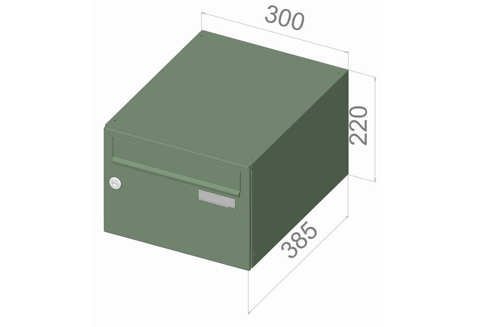 typ B21 NEREZ + lem - 300x220x385 (ležatý model) přední vhoz-přední výběr