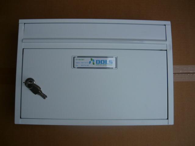 G01-poštovní schránka 385x260x85 - bílá