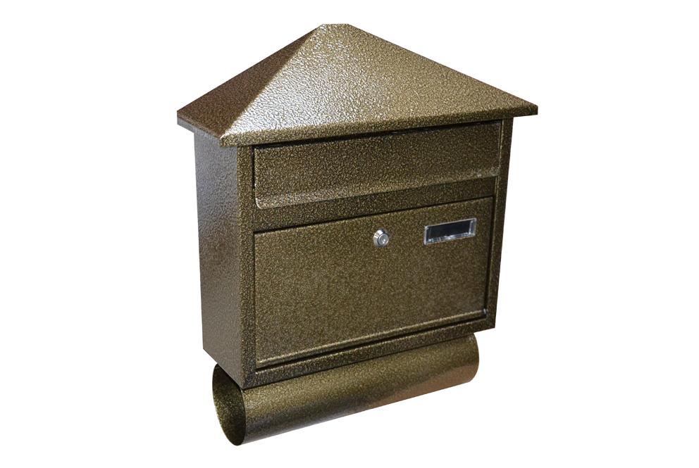Poštovní schránka RD-8T Barva: zlatý antik