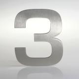 ČÍSLO NEREZ VELIKOST 120 MM (EUROMODE STYL) CÍSLO: číslo 3