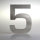 ČÍSLO NEREZ VELIKOST 120 MM (EUROMODE STYL) CÍSLO: číslo 5