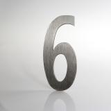 ČÍSLO NEREZ VELIKOST 120 MM (LUCIDA STYL) CÍSLO: číslo 6