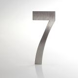 ČÍSLO NEREZ VELIKOST 120 MM (LUCIDA STYL) CÍSLO: číslo 7