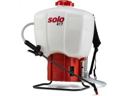 Zádový postřikovač Solo 417, akumulátor
