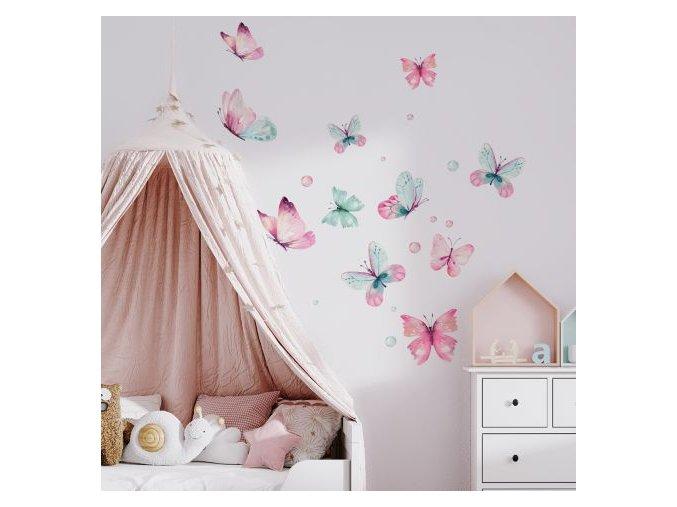 10. Duhoví motýli
