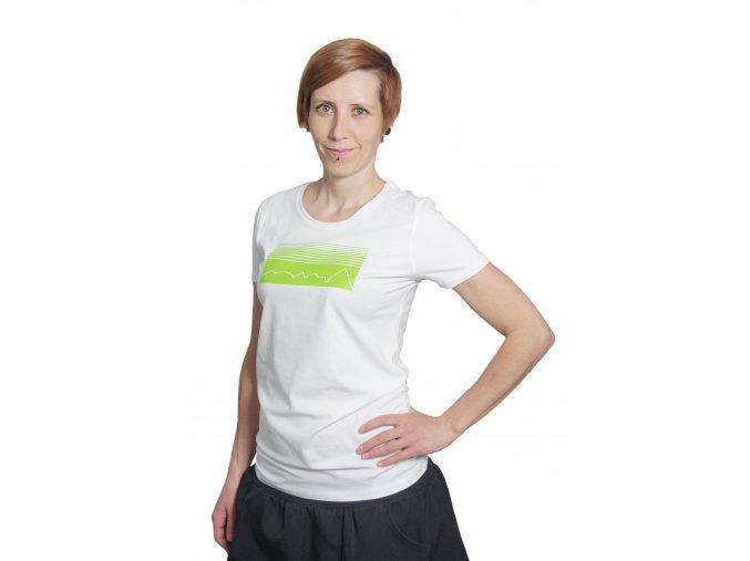 Bílá + zelená formt