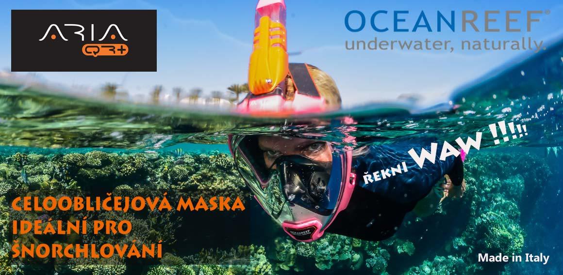 Celoobličejová maska Ocean Reef
