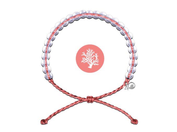 4ocean coral coral reef bracelet