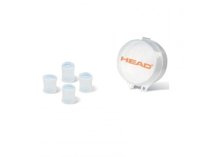 Ucpávky - špunty do uší - HEAD EAR PLUGS SILICONE MOULDED