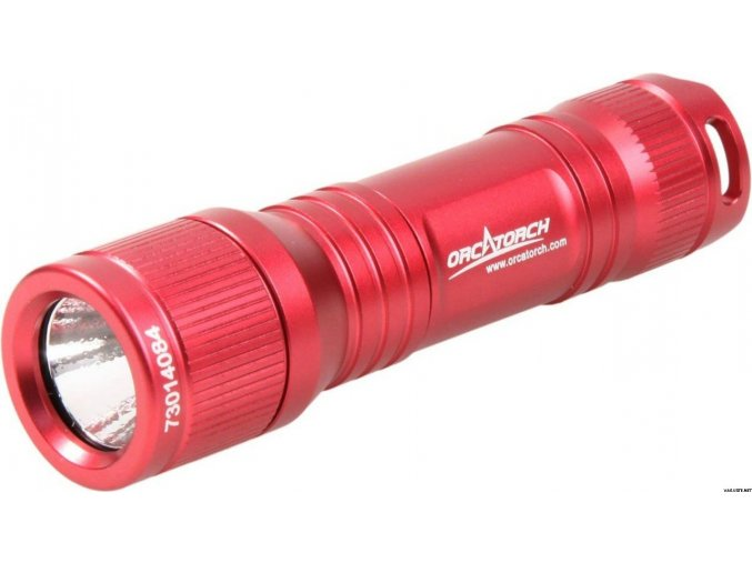 OrcaTorch D560 - Red