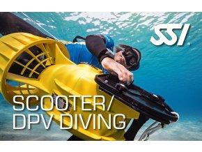 Scooter / DPV diving - Specializace SSI