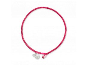 4ocean Pink Flamingo Braided Bracelet