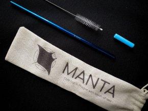 Nerezové brčko MANTA - No. 1 Edition