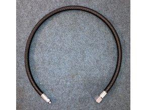 Středotlaká hadice Mares MIFLEX LP Hose 3/8 SFX black 75 cm w/hose protector