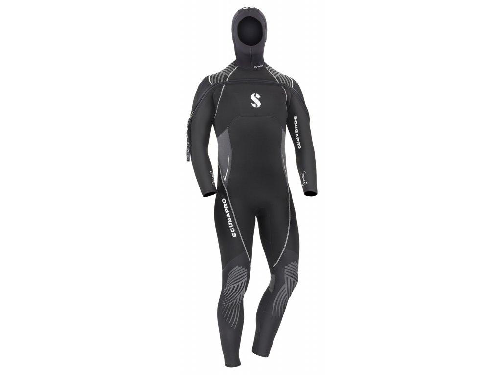 Neoprénový oblek Scubapro Definition 7.0 Zip vpředu & kukla Man
