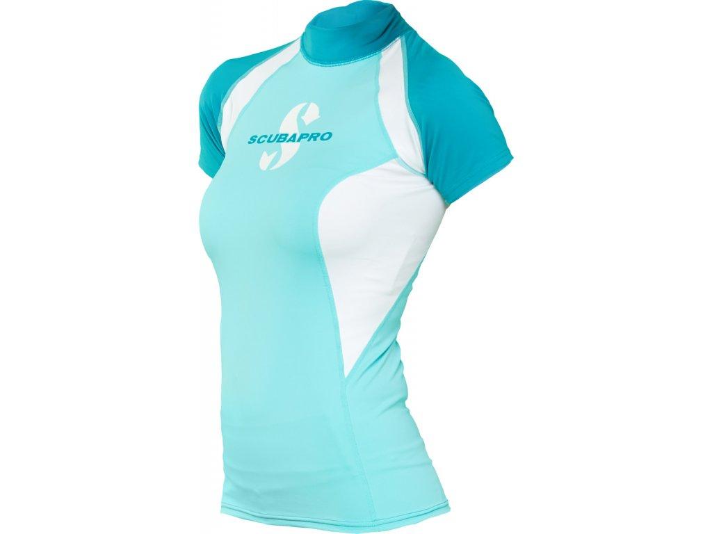 Lykrové triko Scubapro T-Flex Caribbean krátký rukáv