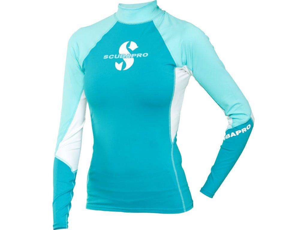 Lykrové triko Scubapro T-Flex Caribbean dlouhý rukáv
