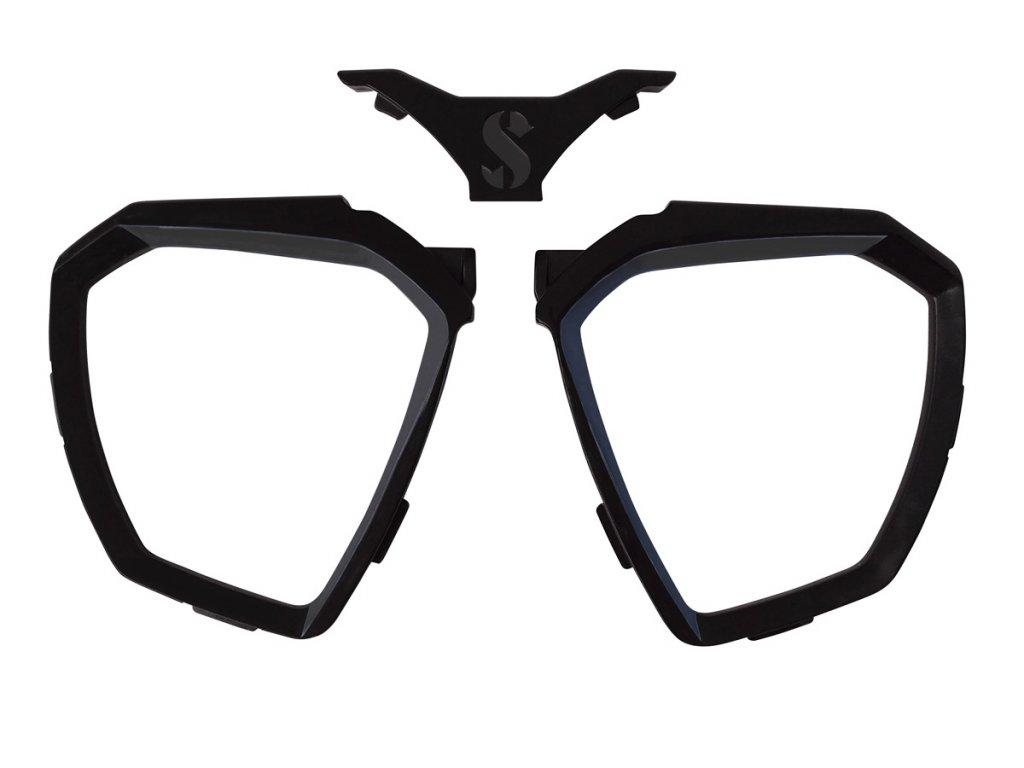 D Mask FRAME BLACK 7
