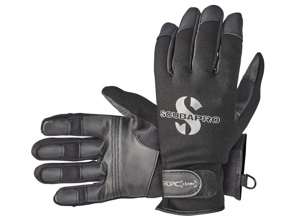 Glove Tropic 1 5 Blk 58.035.X00