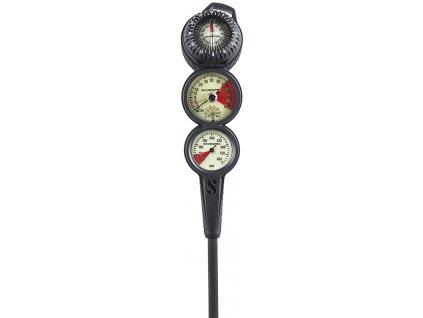 3 gauge inline console