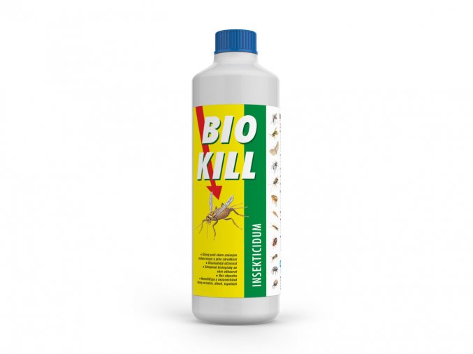 BIO KILL insekticid 200 ml náhradní náplň - Přípravky proti hmyzu > Přípravky proti molům