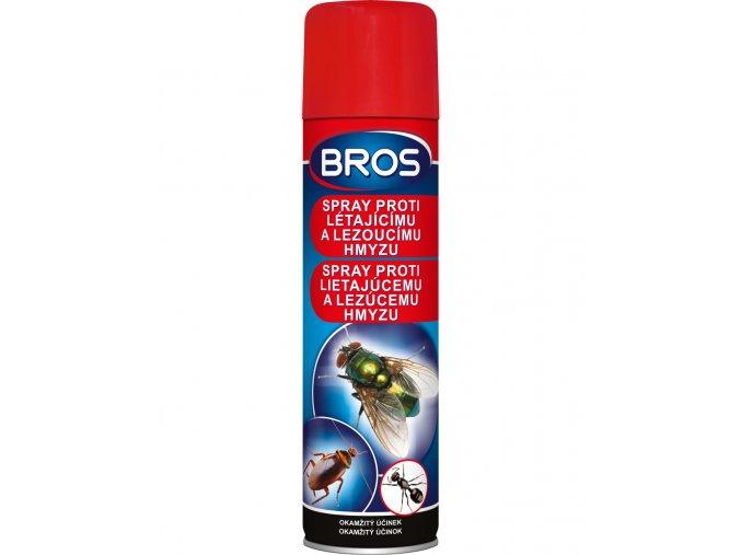 BROS sprej proti letajicimu a lezoucimu hmyzu 400 ml (0091)
