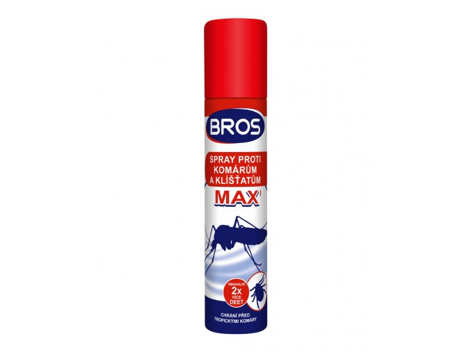 BROS sprej proti komarum a klistatum MAX 90 ml (0208)