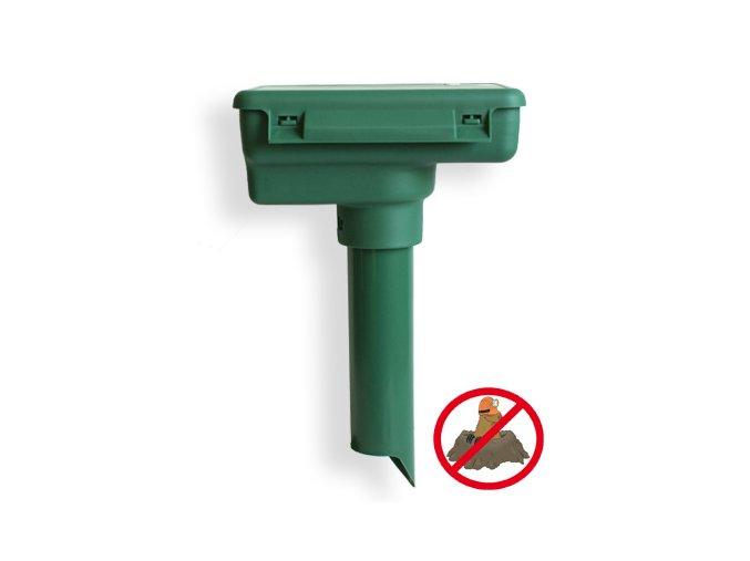 Weitech WK 0675 akustický plašič krtků - Přípravky proti krtkům