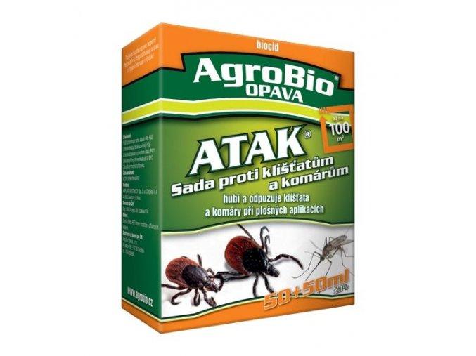 ATAK - Sada proti klíšťatům a komárům 100+100 ml - Přípravky proti hmyzu > Přípravky proti komárům