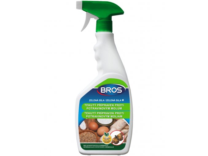 BROS zelena sila tekuty proti potravinovym molům