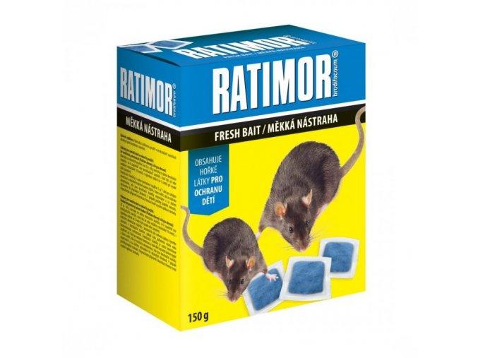 Ratimor měkká nástraha 150g - Přípravky proti hlodavcům > Přípravky proti potkanům