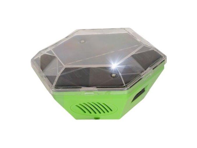Solární ultrazvukový plašič ptáků GARDIGO 360 ° - Ochrana proti holubům