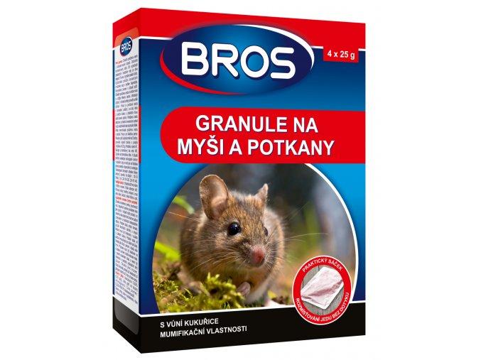 BROS granule na mysi a potkany 100 g