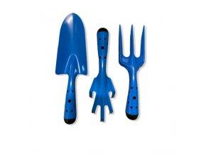 sada zahradniho naradi kovova modra
