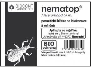 Hlístice proti lalokonoscům Nematop 50 milionů - Přípravky proti hmyzu > Přípravky proti lalokonoscům