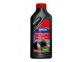 Tekutý odpuzovač krtků Bros 500ml - Přípravky proti krtkům