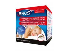 BROS elektricky odparovac proti komarum s tekutou naplni (0023)