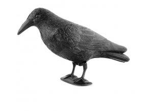 Maketa havrana k postavení nebo zavěšení - Ochrana proti holubům