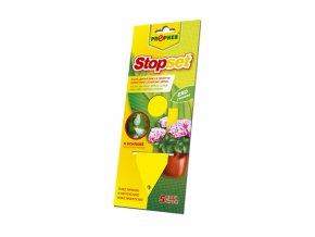 Stop set žluté lepové šipky k odchytu hmyzu 5ks. - Přípravky proti hmyzu > Přípravky proti octomilkám