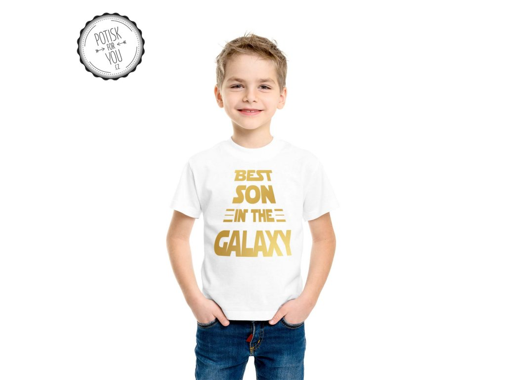 best son in the galaxy white gold