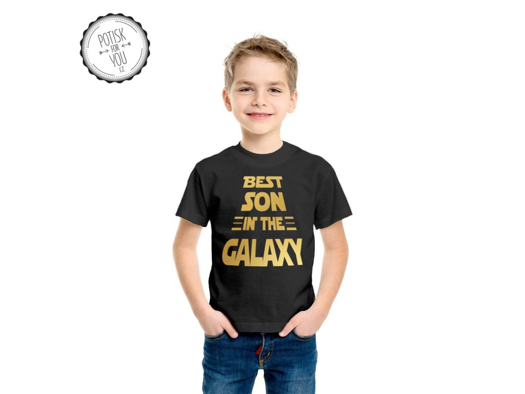 best son in the galaxy black gold