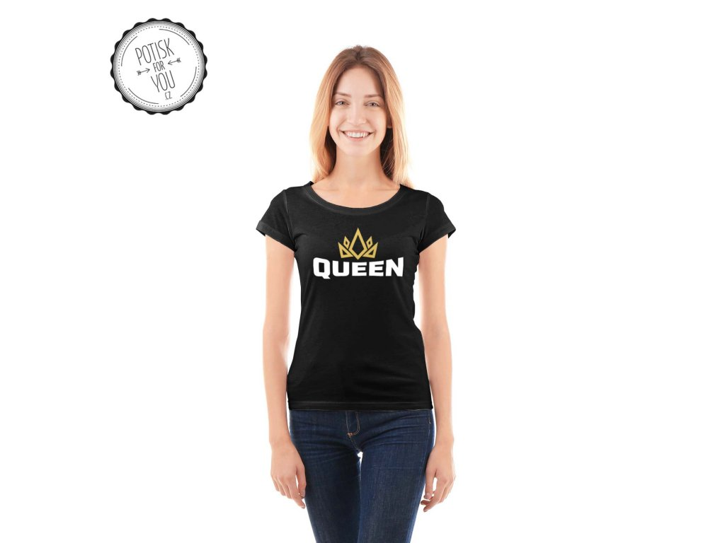 queen1 black white gold