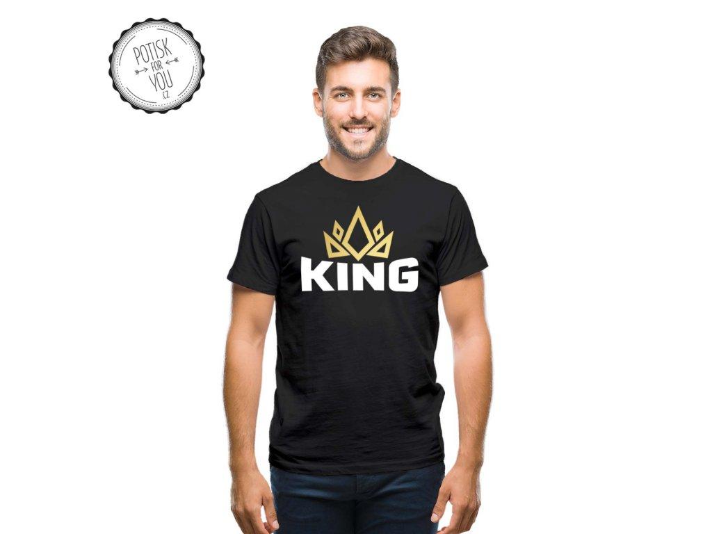 king black white gold