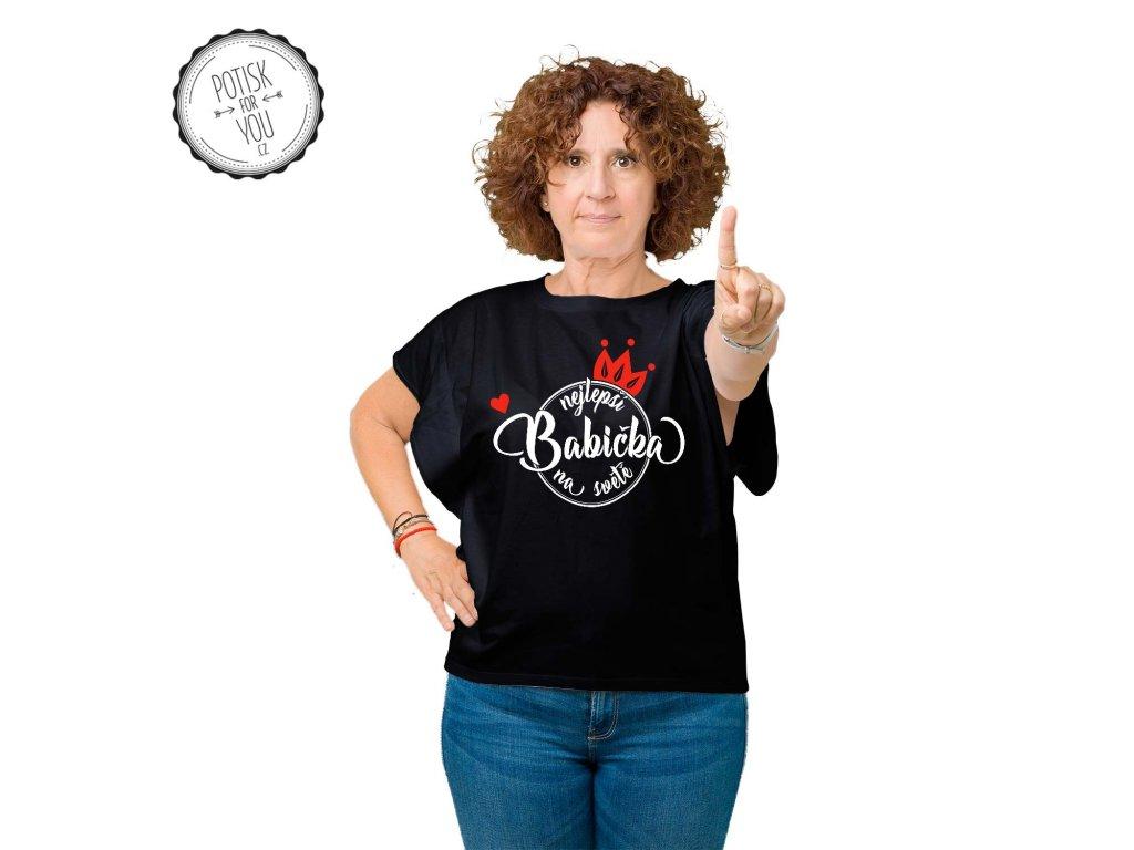 babicka black white red