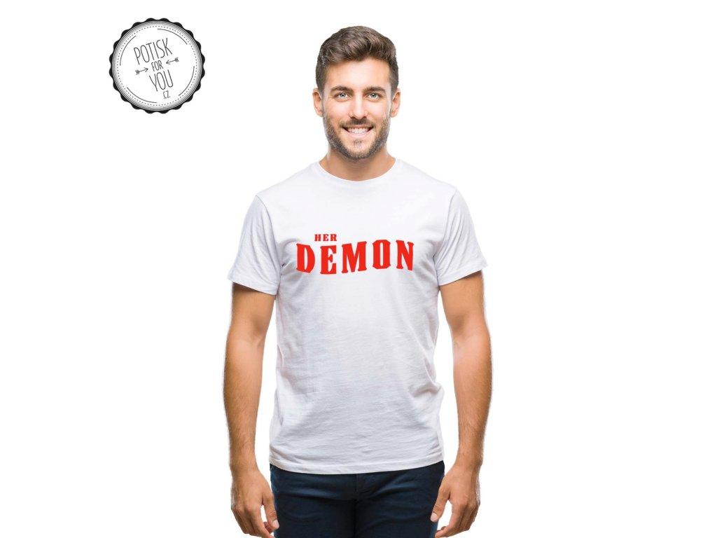 demon white red