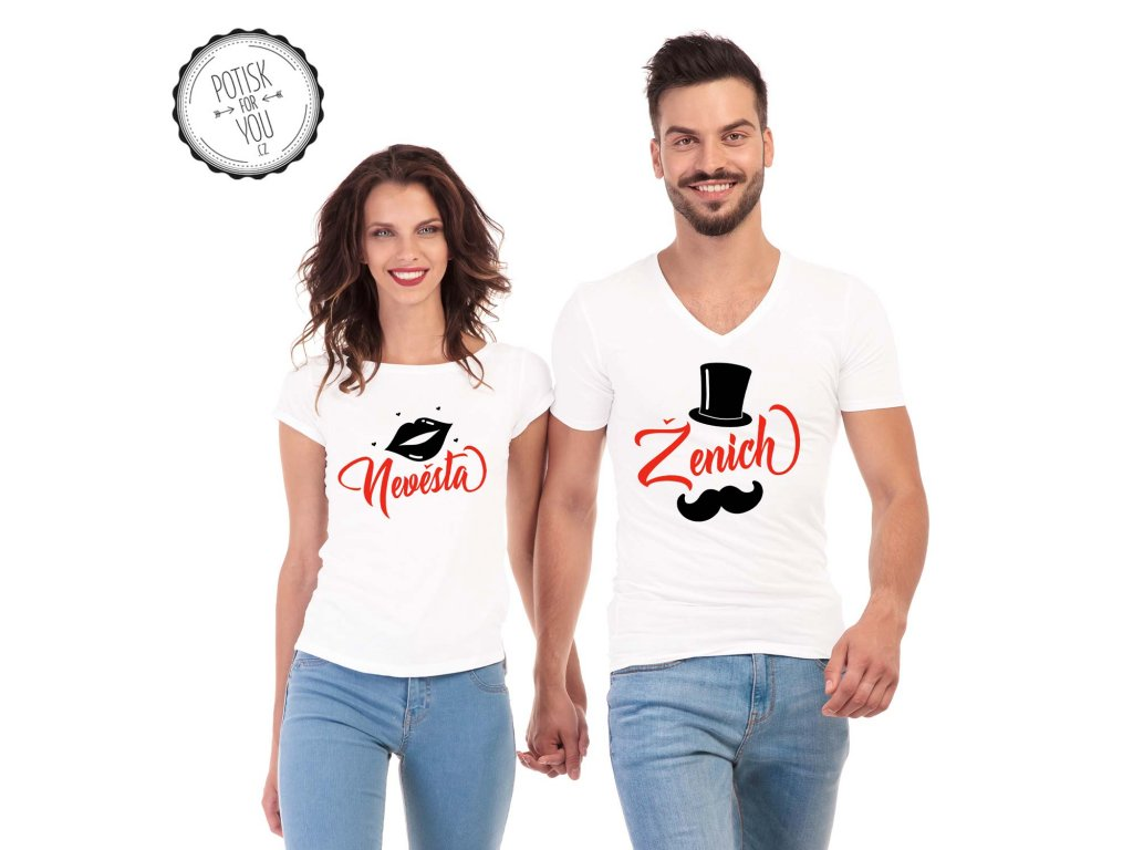 zenich nevesta white black red