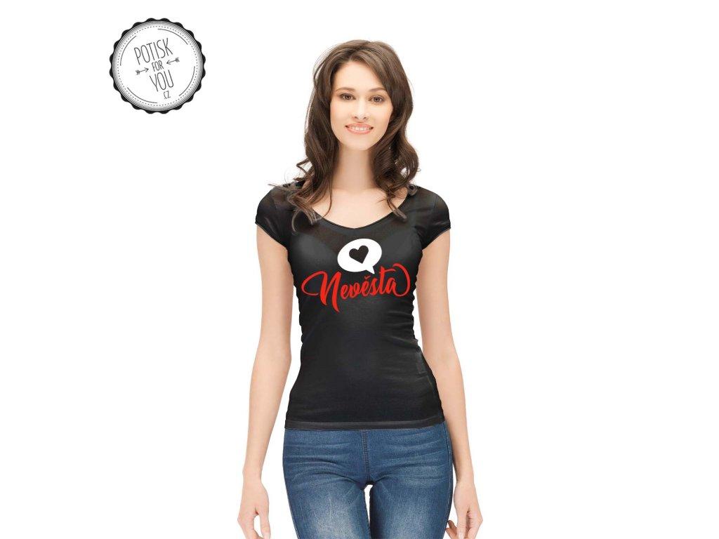 nevesta 1 black white red