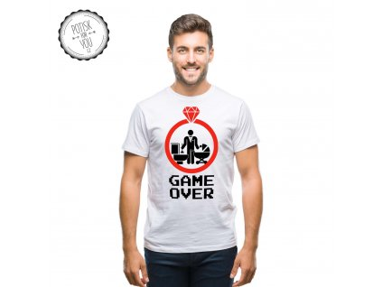 game over 1 white black red