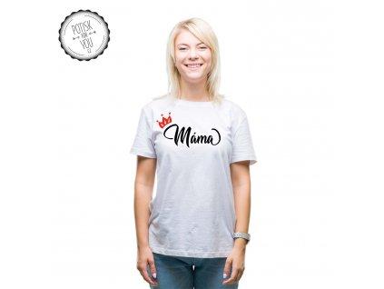 mama white black red